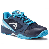 Juniorskie buty tenisowe Head Sprint 2.5 Junior - dark blue/aqua