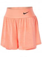 Nike Court Dri-Fit Advantage Short W - crimson bliss/black