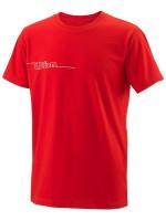 Marškinėliai berniukams Wilson Team II Tech Tee Youth - team red