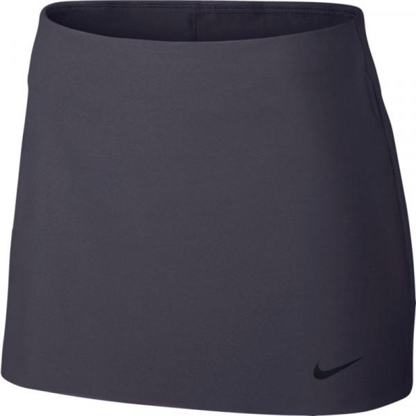 Nike Court Power Spin Tennis Skirt - gridiron/black