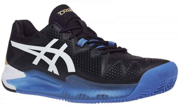 Męskie buty tenisowe Asics Gel-Resolution 8 Clay - black/white