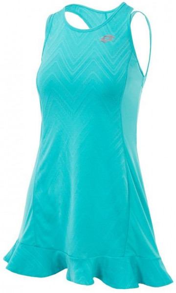 Teniso suknelė Lotto Nixia IV Dress + Bra - green thai
