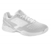 Damskie buty tenisowe Fila Axilus 2 Energized W - white/metallic silver/white