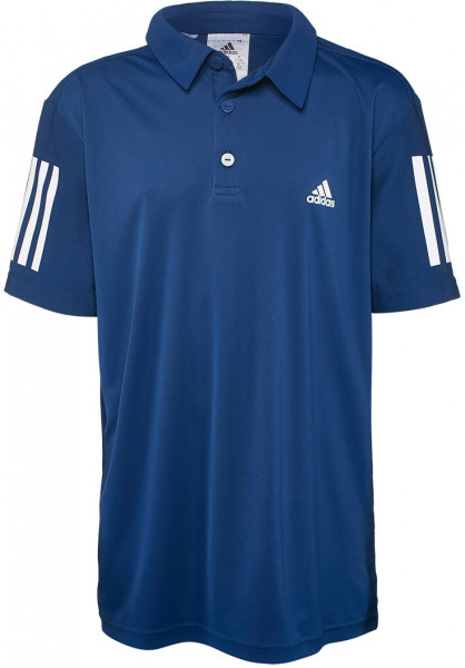 Poiste maika Adidas B Club Polo - mystery blue/white