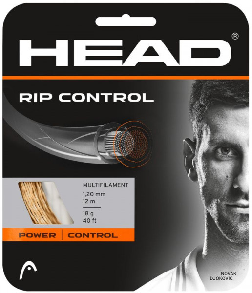 Tennisekeeled Head Rip Control (12 m) - orange