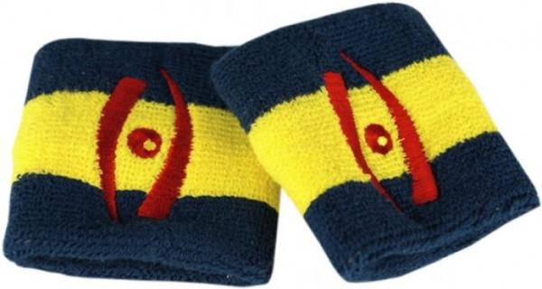 Riešo apvijos Harrow Wristband - navy/yellow/navy