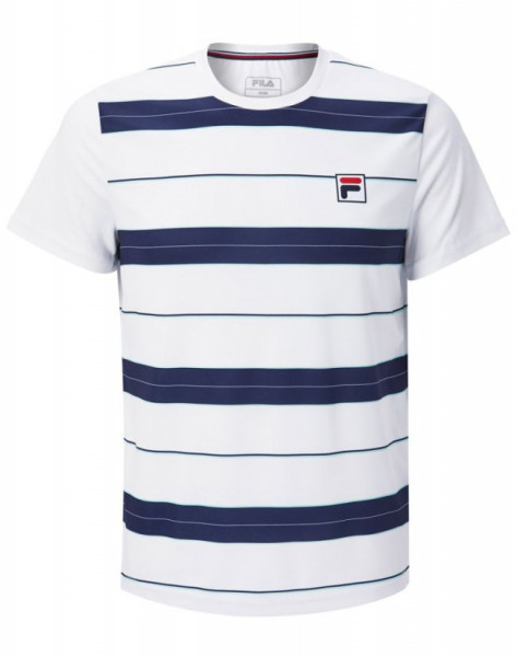 Męski T-Shirt Fila T-Shirt Julian M - peacoat blue/white
