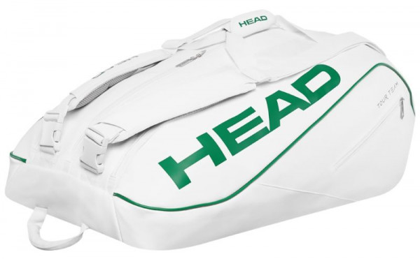 9b498998422b3 Torba Tenisowa Head White 12R Monstercombi x12 - white/green ...