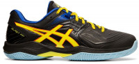 Buty do squasha Asics Blast FF - black/sour yuzu