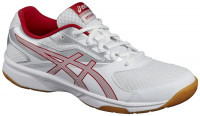 Squash shoes Asics UpCourt 2 - white/prime red/silver
