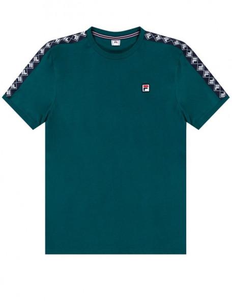 Męski T-Shirt Fila Horace Ringer Tee Men - storm