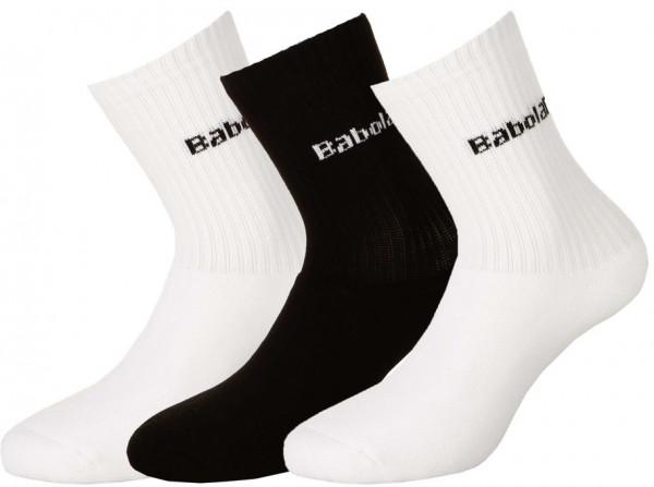 Socks Babolat 3 Pairs Socks - 3 pary/white/black/white