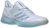 Damskie buty tenisowe Adidas Adizero Ubersonic 3 W x Parley - blue spirit/ftwr white/ftwr white