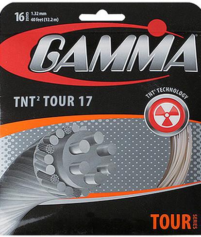 Tennisekeeled Gamma TNT2 Tour 17 (12,2 m)