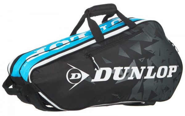 Tenisa soma Dunlop Tour 2.0 6 Pack - black/blue