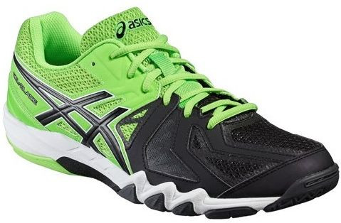 Asics Gel-Blade 5 - green gecko/black/dark grey