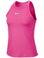 Damski top tenisowy Nike Court Dry Tank W - vivid pink/white