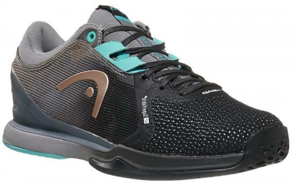 Damskie buty tenisowe Head Sprint Pro 3.0 SF Women - black/light blue