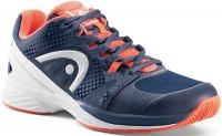 Damskie buty tenisowe Head Nzzzo Pro Clay Women - navy/coral