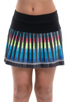 Tenisa svārki meitenēm Lucky in Love Square Are You? Squared Up Pleated Skirt Girls - black
