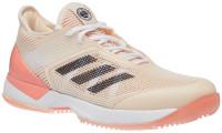 Damskie buty tenisowe Adidas Adizero Ubersonic 3 W Clay - ecru tint/chalk coral