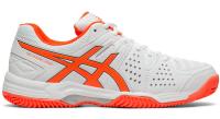 Damskie buty do padla Asics Gel-Padel Pro 3 SG W - white/flash coral