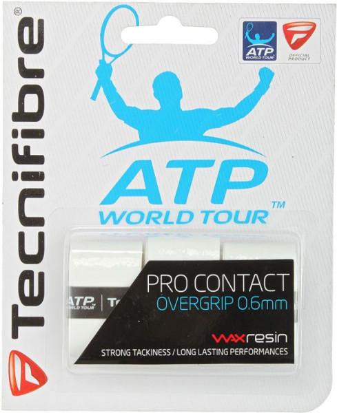 Gripovi Tecnifibre Pro Contact 3P - white