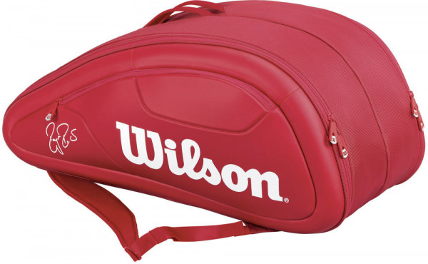 Torba Tenisowa Wilson Federer DNA 12 Pk Bag - red