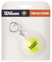 Wilson Tennis Ball Keychain Roland Garros - yellow