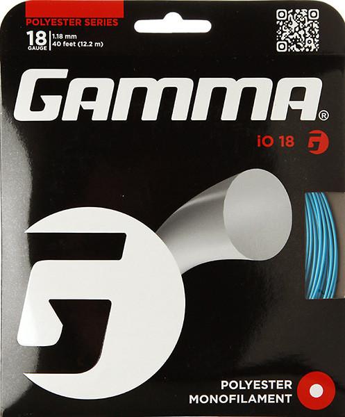 Naciąg tenisowy Gamma iO (12.2 m) - blue