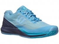 Damskie buty tenisowe Wilson Rush Pro 3.0 W - alaskan blue/peacoat/scuba blue