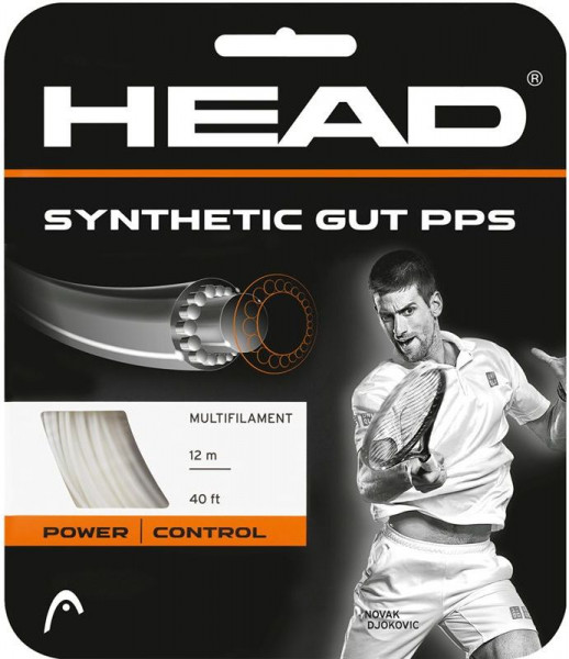 Teniso stygos Head Synthetic Gut PPS (12 m) - white
