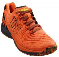 Męskie buty tenisowe Wilson Kaos 2.0 - shocking orange/black/safety yellow