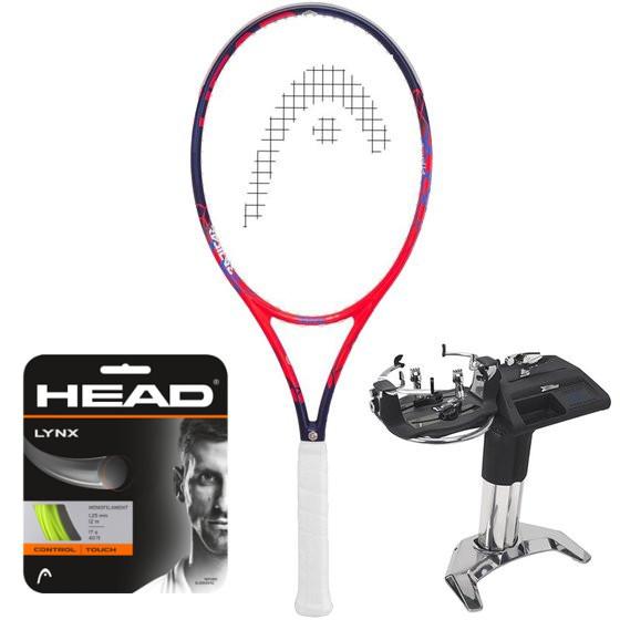 Head Graphene Touch Radical MP Lite + naciąg + usługa serwisowa