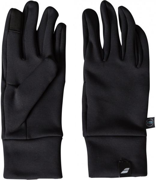Rękawiczki Tenisowe Babolat Tennis Coach Gloves - black/black