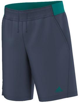 Spodenki chłopięce Adidas Barricade Short - mineral blue/eqt green