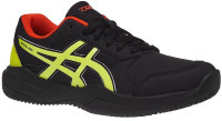 Juniorskie buty tenisowe Asics Gel-Game 7 Clay/OC GS - black/sour yuzu