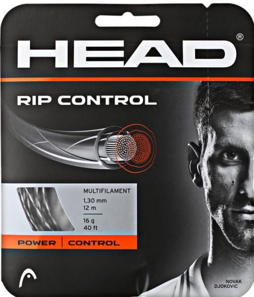 Tenisa stīgas Head Rip Control (12 m) - black/white