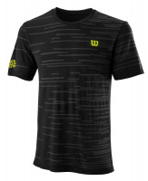 Muška majica Wilson Kaos Rapide Seamless M - black