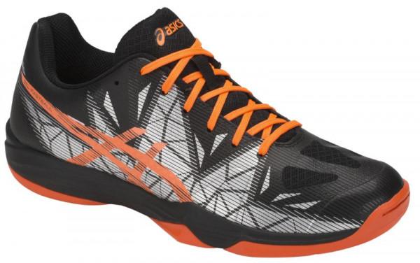Buty do squasha Asics Gel-Fastball 3 - black/shocking orange