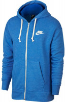 Nike Sportswear Heritage FZ Hoodie - blue fury