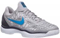 Męskie buty tenisowe Nike Air Zoom Cage 3 - atmosphere grey/photo blue