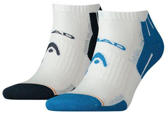 Tenisa zeķes Head Performance Sneaker - 2 pary/blue/blue