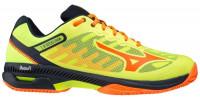 Męskie buty tenisowe Mizuno Wave Exceed SL2 CC - safety yellow/shocking orange/ sky captain