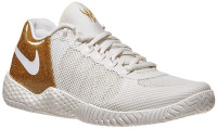 Damskie buty tenisowe Nike Flare 2 - phantom/phantom/metallic gold