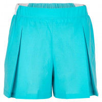 Spodenki dziewczęce Lacoste Girls' Lacoste SPORT Roland Garros Culotte Skirt - turquoise/white/green