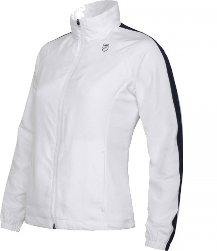 Damska bluza tenisowa K-Swiss Accomplish Jacket - white/peacoat
