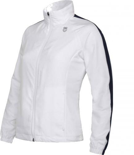 Damska bluza tenisowa K-Swiss Accomplish Jacket - white/peacoat