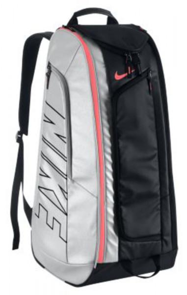 Nike Court Tech 1 - black/metallic silver/hot lava