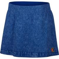 Damska spódniczka tenisowa Nike Court Dry Slam Printed Skirt - indigo force/white